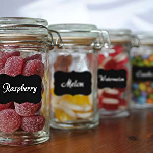 Labels Mason Jars Canisters