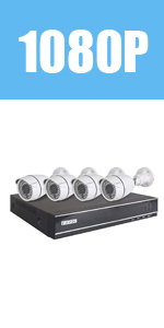 Wired Security Camera Kit