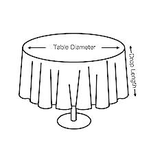 圆桌尺寸图