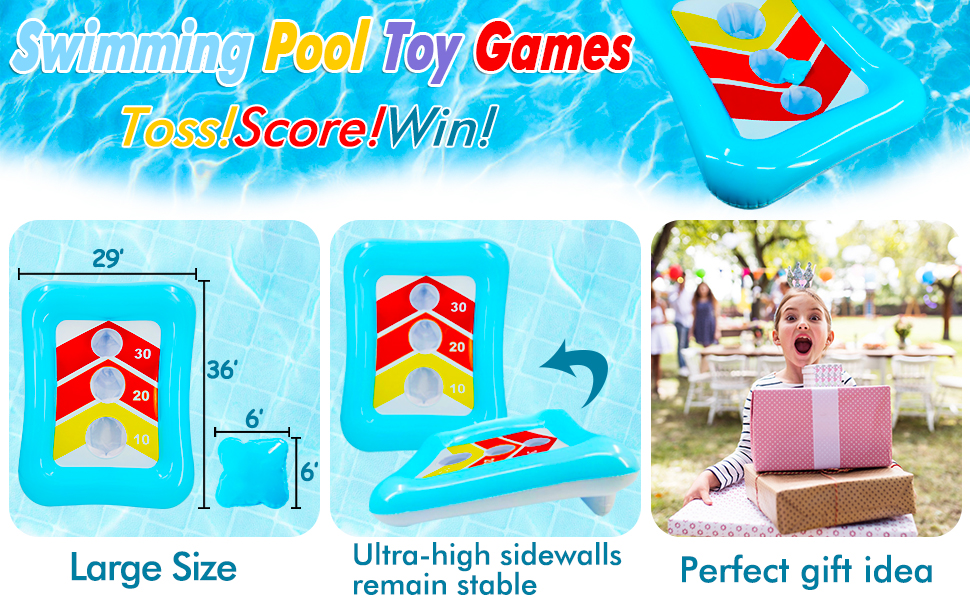 pool toys games