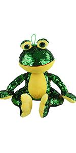 sequin frog
