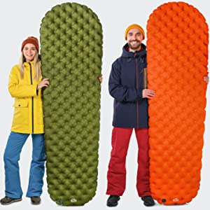 self inflating sleeping mat camping pad sleeping pad hiking air mattress travel mattress camp pad