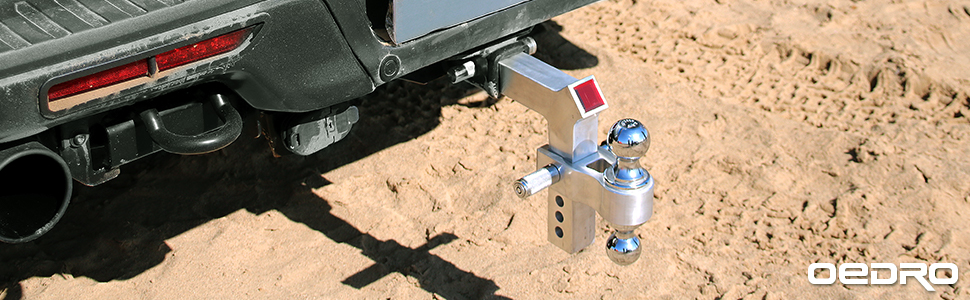 OEDRO Trailer hitch ball mount