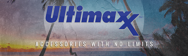 Ultimaxx logo accessories with no limits
