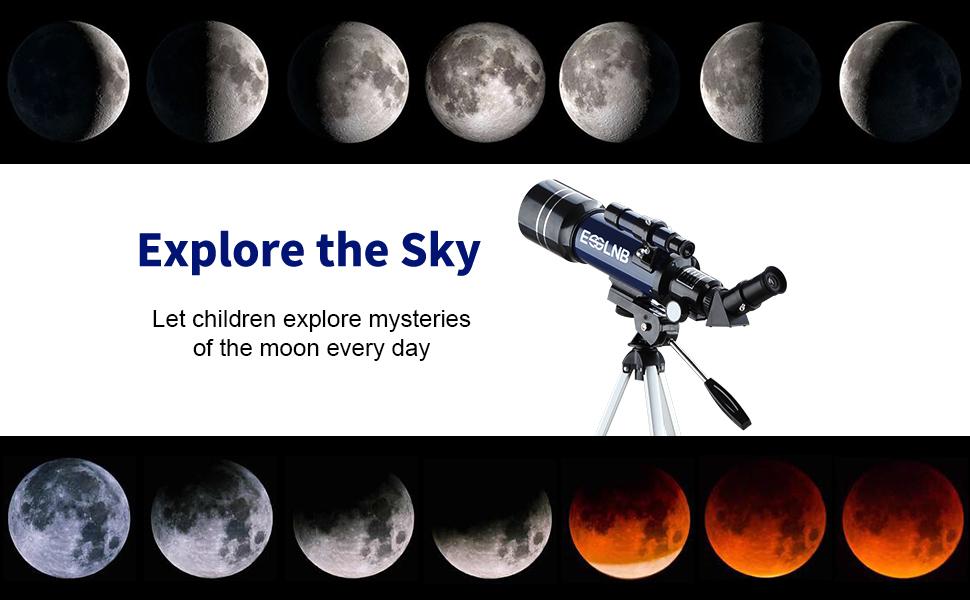 refractor moon telescope