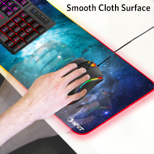 smooth cloth mouse pad