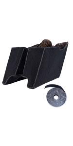 advanblack saddlebag liners