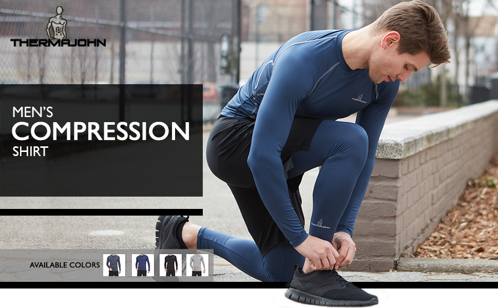 Thermajohn Compression Shirt for Men