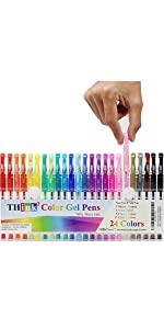 Color Gel Pens