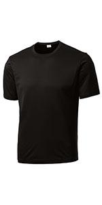 Men's Short Sleeve Moisture Wicking Athletic Shirts