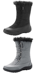 Womens Waterproof Winter Snow Boots