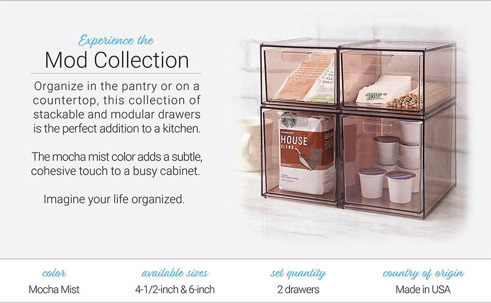 Mod Collection organizer drawers