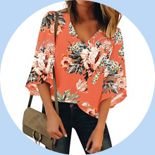 Summer Tops for Women Casual