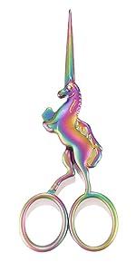 unicorn craft embroidery scissors