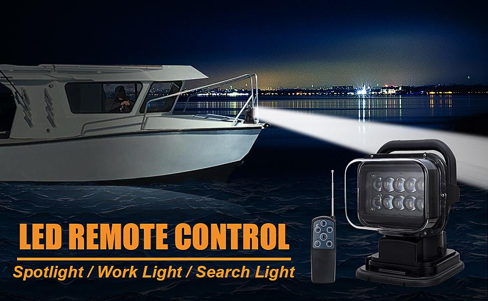remote control spotlight