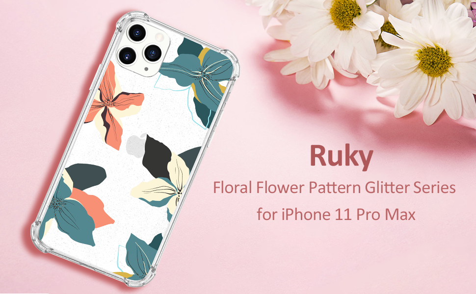 iphone 11 pro max tropical flower