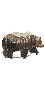 Snow Bear diamond painting animal diamond painting