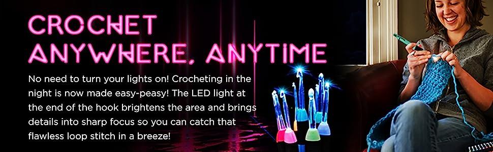 light up crochet hooks
