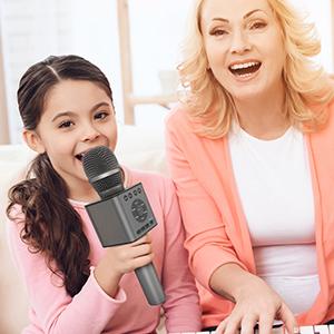 TOSING wireless bluetoooth karaoke microphone