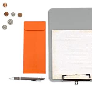 orange #10 policy envelope