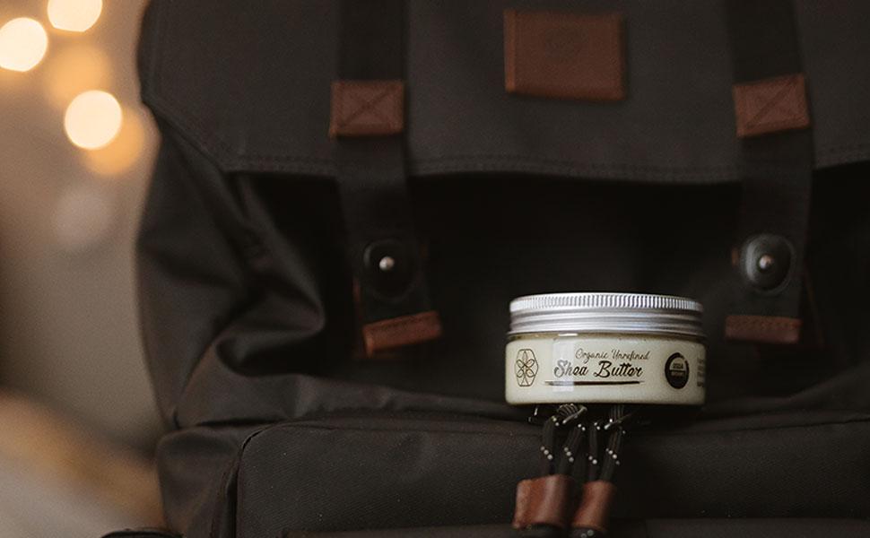 Travel Organic Shea Butter