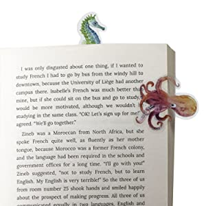 bookmark book mark gift for readers writers book lovers secret santa christmas idea