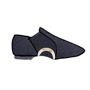 slip on jazz shoes