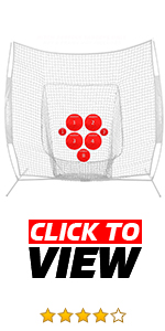 PowerNet Pitch Perfect Targets improve accuracy for multiple sports including baseball and soccer.