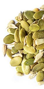 Organic Sprouted Pumpkin and Sunflower Seeds Mix