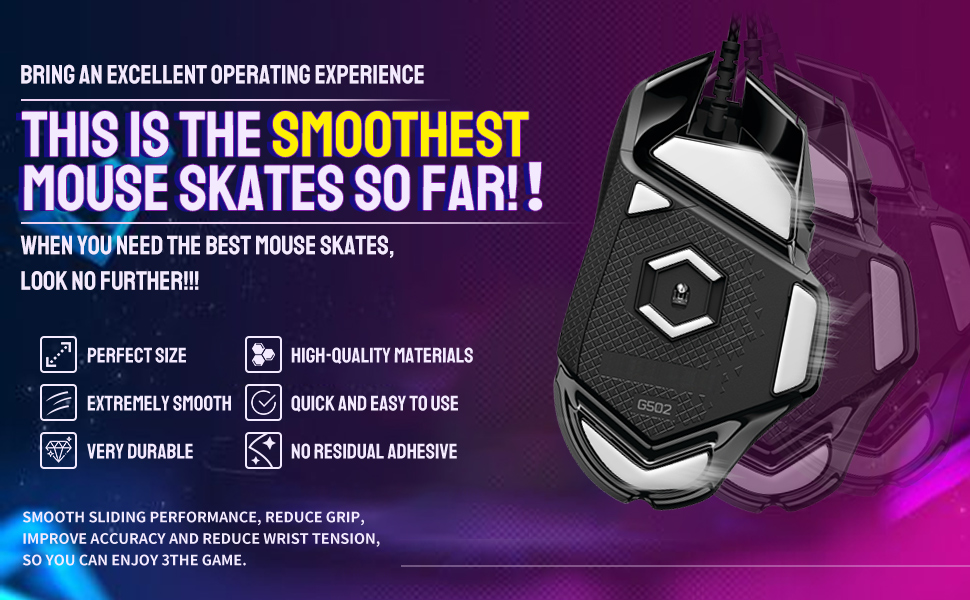 Smooth mouse feet gaming mouse feet gaming mice feet mouse skates