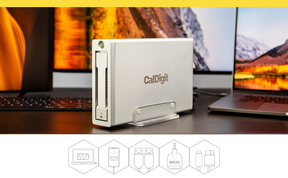 CalDigit AV Pro 2 Icons