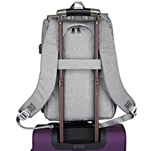 Diaper Bag Backpack with Luggage Strap