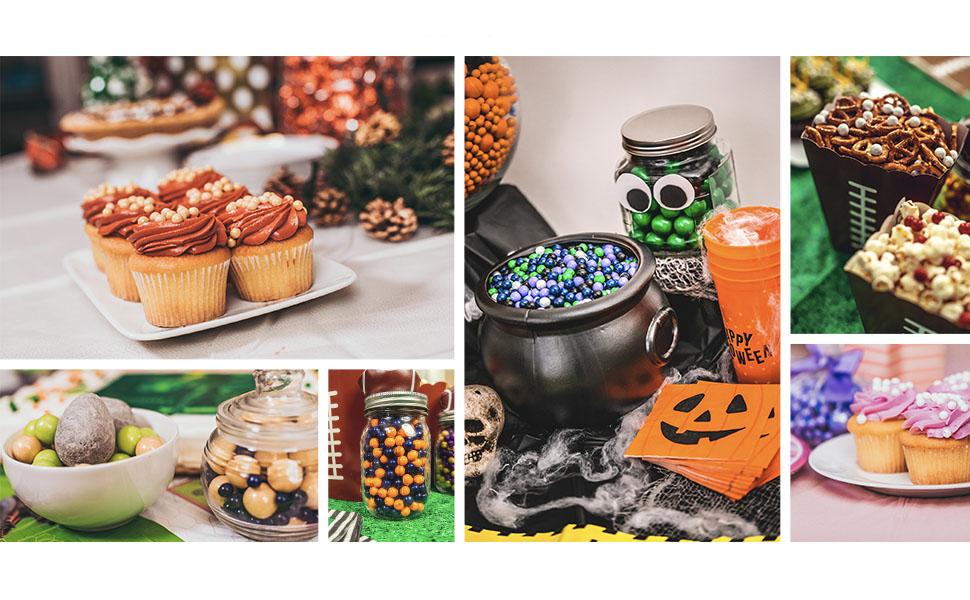 candy buffets for halloween, christmas, thanksgiving and other holidays