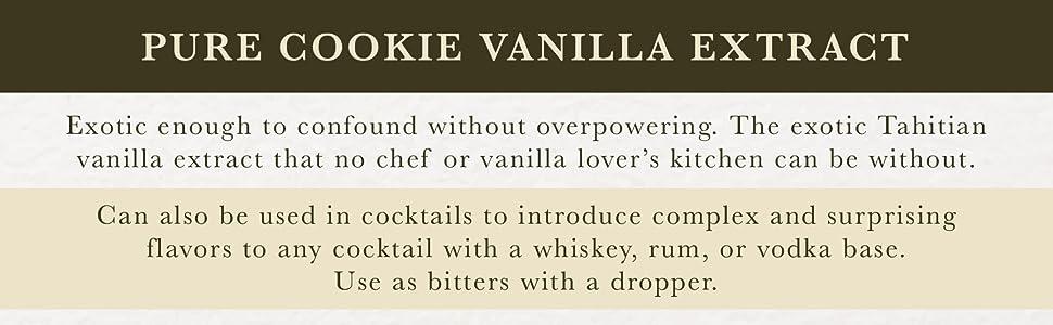 Pure Cookie Vanilla Extract