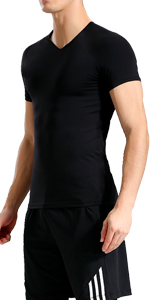 lavento men's compression undershirts short sleeve