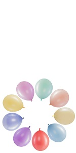 bulk party balloons pastel balloons soft candy color balloons pale balloons