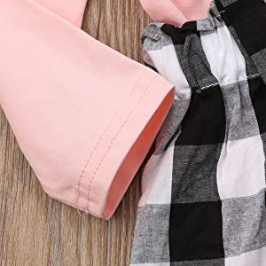 ruffle long sleeve tops and skirt