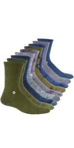 Unisex Cushion Military Copper Outdoor Hiking Socks