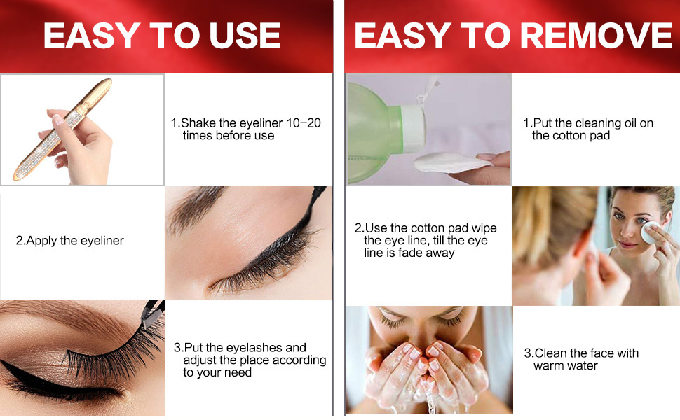 EASY TO USE & EASY TO REMOVE