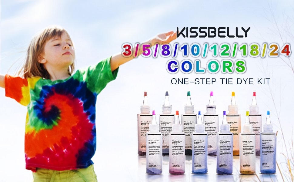 One step tie dye kit