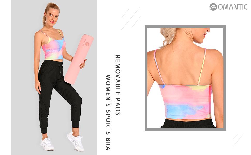 womens sports yoga bra