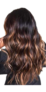 Long Highlight Color Wig