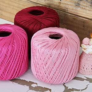 cotton crochet thread