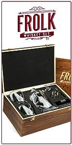 frolk whiskey gift set