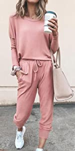 leisure set long pant outfits