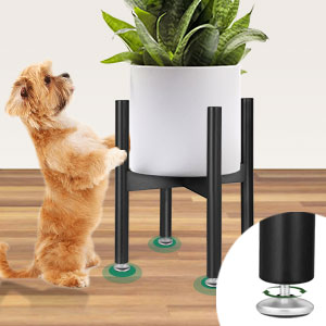 modern bamboo plant stand