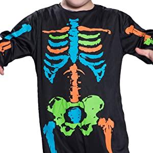boy skull costume
