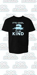 Be Kind Choose Kindness Teacher Cute No Bullies Youth Kids Girl Boy T-Shirt