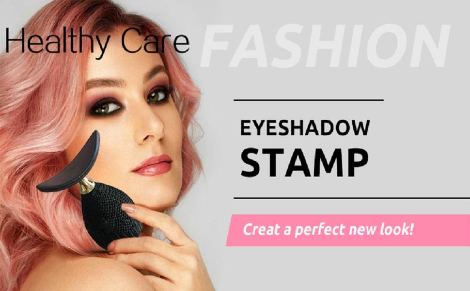 Ikibity Eye Shadow Stamp Crease, Lazy Eyes Makeup Tool