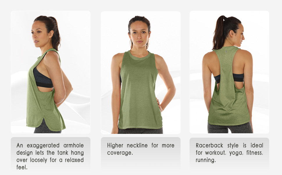 home workout tank top icyzone yoga tops running tops muscel tanks
